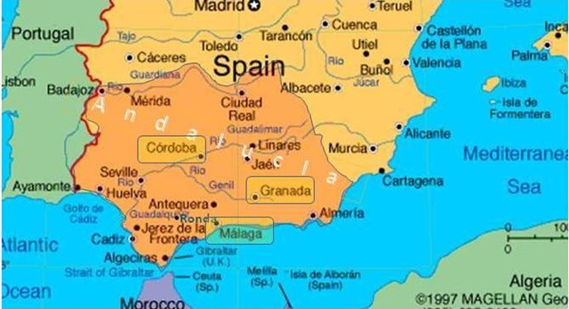 rootless Archive Andalucia Moor Moor Moor Granada Malaga